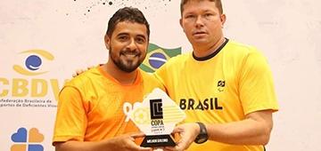 Aluno IESP é eleito melhor goleiro em campeonato nacional de Futebol de Cinco