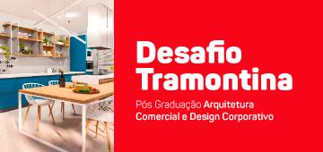 Alunos da pós em Arquitetura Comercial e Design Coorporativo participam do Desafio Tramontina