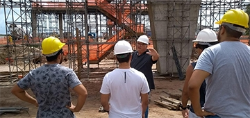 Alunos de Engenharia Civil do IESP realizam visita técnica nas obras da BR-230