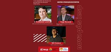 Aula inaugural da pós-graduação em Gestão e Produção de Eventos acontece nesta segunda (11)