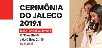 Cerimônia do Jaleco acontece na próxima terça-feira (16)