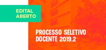 Classificados | Processo Seletivo Docente 2019.2