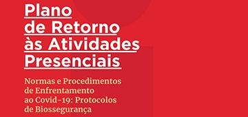 Comissão divulga e-book com Plano de Retorno às Atividades Presenciais