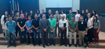 Conhecendo o judiciário: alunos de Direito IESP participam do programa Conhecendo o Jurídico