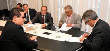 Convênio entre TJPB, Iesp e Segurança Pública do Estado institui projeto-piloto 'Delegado Conciliador'