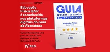 Curso de Educação Física recebe selo de qualidade do Guia da Faculdade