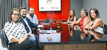 Cursos de Publicidade e EPC firmam parceria para veiculação de conteúdos em jornal e Rádio