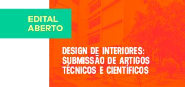 Design de Interiores: Divulgado edital para submissão de artigos para primeiro livro do curso