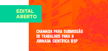 Editais para apresentação de trabalhos e workshops na II Jornada Científica são divulgados