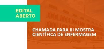Edital para III Mostra Científica do Curso de Enfermagem IESP é divulgado