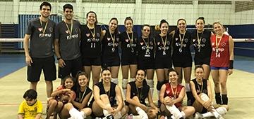 Equipe de vôlei feminino IESP/Botafogo-PB vence torneio em João Pessoa