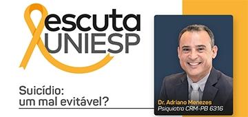 Escuta UNIESP traz palestra sobre prevenção ao suicídio nesta sexta (18)