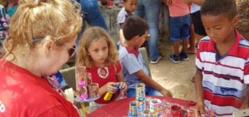 Estudantes de Direito do IESP realizam ação solidária de Dia das Crianças em comunidade de Cabedelo