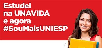 Estudantes UNAVIDA têm condições especiais nas graduações UNIESP