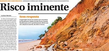 Estudo do professor Williams Guimarães é destaque de reportagem no Correio da Paraíba