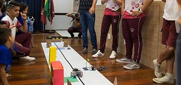 Etapa estadual do Torneio Juvenil de Robótica acontece no IESP nesse fim de semana