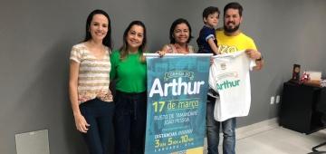 IESP apoia projeto beneficente Corrida do Arthur