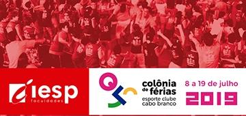 IESP apresenta Colônia de Férias Esporte Clube Cabo Branco, que acontece de 8 a 19 de julho