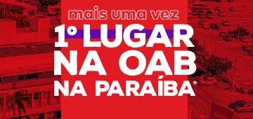 IESP é mais uma vez primeiro lugar de aprovações na OAB entre as faculdades particulares da Paraíba