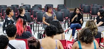 """IESP recebe mulheres da área de comunicação para evento """"Lugar de Mulher é Onde Ela Quiser"""""""