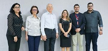 IESP recebe visita de Antônio Colaço e de Graça Martins, da mantenedora da instituição