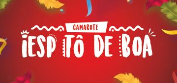 Ingressos para o Camarote IESP Tô de Boa já estão à venda