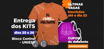 Kits de Treino de Halloween Inova UNIESP serão entregues segunda (25) e terça (26)