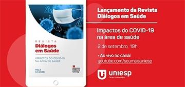 Lançada edição temática sobre Covid-19 da revista Diálogos em Saúde