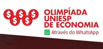 Olimpíada UNIESP de Economia acontece esta semana de forma remota