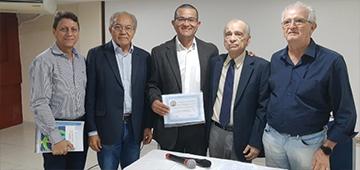 Palestra de professor Williams Guimarães recebe reconhecimento de excelência pela Academia Paraibana de Engenharia