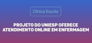 Projeto oferece atendimento em enfermagem online