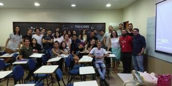 Recepção dos alunos dos cursos de Publicidade 2018.2