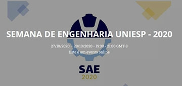 Semana Acadêmica de Engenharia acontece de 27 a 29 de outubro