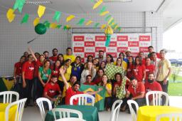 Torcida IESP se reúne mais uma vez para Brasil x México