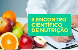 Vem aí: II Encontro Científico de Nutrição do IESP