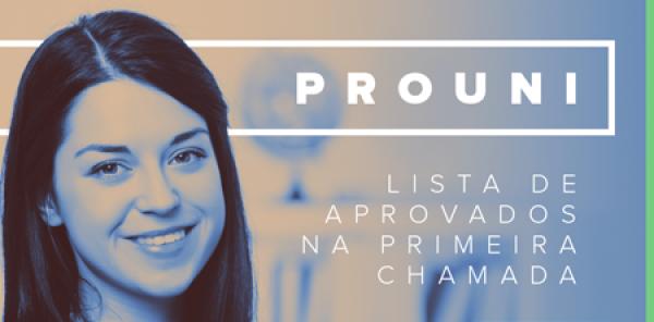 Candidatos pré-selecionados PROUNI 2017.1