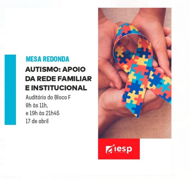 8c683e97ba IESP realiza evento sobre a conscientização do autismo - Notícias ...