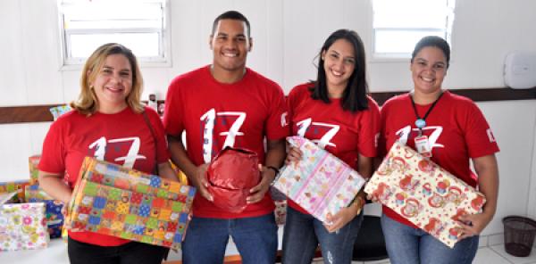 IESP promove Natal Solidário em parceria com a Crei Olga Maria